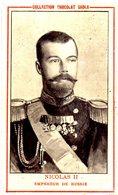 RUSSIE - Tsar Nicolas II - Empereur Russe. - Chromos
