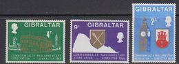 Gibraltar 1969 Commonwealth Parliamentary Association 3v  ** Mnh (41487B) - Gibraltar
