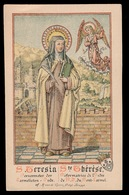 HEILIG PRENTJE IMAGE PIEUSE - S.TERESIA HERVORMSTER DER CARMELIETEN  - 2 AFBEELDINGEN - Images Religieuses