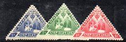 ETP101 - ETIOPIA 1961 ,  Yvert  N 377/379    ***  NOZZE D'ORO - Etiopia