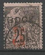 OBOCK N° 26 OBL  / Signé CALVES - Obock (1892-1899)