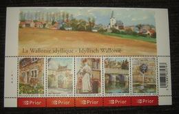 Blok 132** Idyllisch Wallonië - BF 132 MNH Bloc La Wallonie Idyllique COB 3541/45** Pl 4 - Blocks & Sheetlets 1962-....