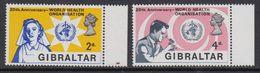 Gibraltar 1968 WHO 2v ** Mnh (41487F) - Gibraltar