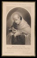 HEILIG PRENTJE IMAGE PIEUSE - SAINT JEAN DE LA CROIX  - 2 AFBEELDINGEN - Images Religieuses