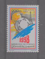 Djibouti - 1998 - Coupe Du Monde De FOOTBALL - Mi N° 664** (M.N.H.) - Yvert 736A - Fraicheur Postale - Djibouti (1977-...)