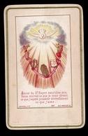 HEILIG PRENTJE IMAGE PIEUSE - AMOUR DU ST.ESPRIT  - 2 AFBEELDINGEN - Images Religieuses