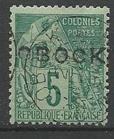 OBOCK N° 13 OBL TB / Signé CALVES - Obock (1892-1899)