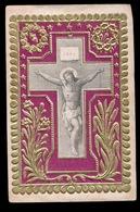 HEILIG PRENTJE IMAGE PIEUSE - RELIEF GAUFREE  - 2 AFBEELDINGEN - Images Religieuses