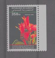 Djibouti - 1996 - Fleur - Mi N° 625** (M.N.H.) - Yvert 719J - Fraicheur Postale - Djibouti (1977-...)