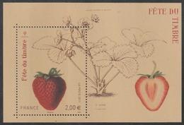 Année 2011 - Feuillet N° F4535 - Fête Du Timbre : Fraisier Rubis - Timbre Parfumé à La Fraise - Neufs