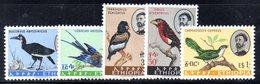 ETP107 - ETIOPIA 1962 ,  Yvert  N 388/392    ***  ORDINARIA UCCELLI - Etiopia