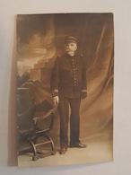 Billancourt, 1914 - Carte Photo - Soldat En Uniforme - Régiment à Identifié, Képi, Texte Intéressant - Boulogne Billancourt
