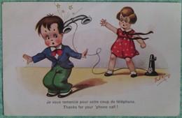 """Carte Humouristique : """"Je Vous Remerci Pour Votre Coup De Téléphone"""" - Humour"""