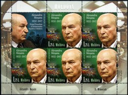 "Moldova 2018 ""In Memory Of A. Moshanu"" Sheet Qualiti:100% - Moldova"
