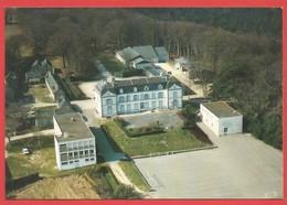 """C.P.M. ( 56  ) """" PLOEMEUR """" Collège N.D. Du TER (devenue Collège Jean Paul II )vue Aérienne  Voir 2 Photos - Ploemeur"""