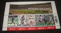 Blok 129** Memorial Van Damme - BF 129 XX - Bloc 129 MNH 3520/24** Pl 1 - Blocs 1962-....