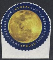 Etats Unis 2016 Sur Fragment Used Global Forever The Moon La Lune SU - Etats-Unis