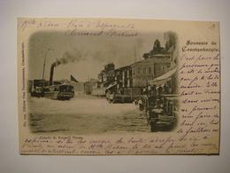 Constantinople 2 Pc's.Echelle De Rouméli Hissar.Fontaine De Quartier Turc - Turkey