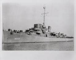 """USS """"Foreman"""" DE 633, Destroyer D'escorte Américain Le 13.11.43 - Boten"""