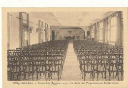 EGYPE )) ALEXANDRIE   Collège Saint Marc, La Salle Des Projections Et Conférences - Alexandrie