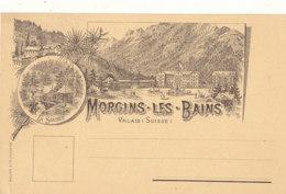 SUISSE )) MORGINS LES BAINS , Vue Générale - VS Valais