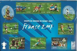 2007-VIe Coupe Du Monde De Rugby - Neufs