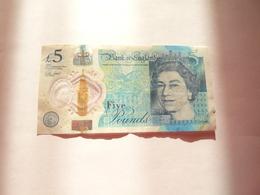 A Vendre Billet De 5  Pounds Toujours Valide - 1952-… : Elizabeth II