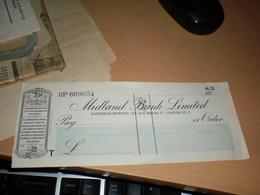 Midland Bank Limited  Overseas Branch London - Gran Bretagna