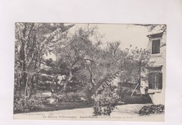 CPA   CASABLANCA, JARDIN DU CONSULAT DE FRANCE En 1913! (avec Personnage Dans Le Jardin) - Casablanca
