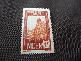 TIMBRE   NIGER     N  45A     COTE  2,20  EUROS   NEUF  TRACE  CHARNIÈRE - Niger (1921-1944)