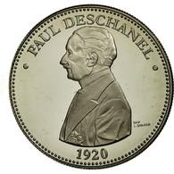 France, Médaille, Les Présidents De La République, Paul Deschanel, FDC - France