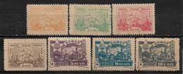 1923 TRANSCAUCASIAN Complete SET OF 7 MNH OG STAMPS (Michel # 27-33) CV €13.00 - Federative Social Soviet Republic
