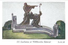 SS. LAMBERTO E WILLIBRORDUS - M - RB -  Mm. 72 X 113 - Religione & Esoterismo