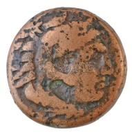 Makedónia / III. Alexandrosz Kr. E. 336-323. AE érme (6,48g) T:3 Macedon / Alexander III 336-323. BC AE Coin (6,48g) C:F - Monnaies & Billets
