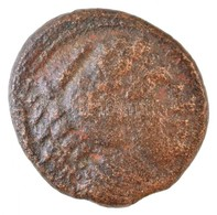 Makedónia / Amphipolis Kr. E. 336-323. AE érme (3,3g) T:3 Macedon / Amphipolis 336-323. BC AE Coin 'ALEXANDROU' (3,3g) C - Monnaies & Billets