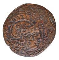 Thrákia / Lüszimakhosz Kr. E. 305-281. AE érme (4,52g) T:2-,3 Thrace / Lysimachos 305-281. BC AE Coin '[BASILEWS LUSIMAC - Monnaies & Billets