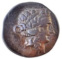Thrákia / Thaszosz Kr. E. ~148-90. Ag Tetradrachma (16,18g) T:2,2- Hajlott Thrace / Thasos ~148-90. BC Ag Tetradrachm 'E - Monnaies & Billets