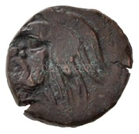 Tauriké / Pantikapaion Kr. E. IV. Század AE17 (4,51g) T:2- Rep. /  Taurica / Panticapaeum 4th Century BC AE17 'Head Of P - Monnaies & Billets