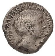 Római Birodalom / Róma / Octavianus Kr. E. 36. Denár Ag (3,56g) T:2- Ki.,ü. Roman Empire / Rome / Octavian 36. BC Denari - Monnaies & Billets