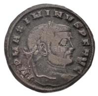 Római Birodalom / Siscia / II. Maximinus 312. AE Follis (5,4g) T:2- Roman Empire / Siscia / Maximinus II 312. AE Follis  - Monnaies & Billets