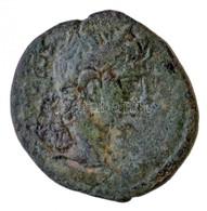 Római Birodalom / Provinciális AE Veret Héraklész Oroszlánbőrt Viselő Fejével (1,79g) T:3 Roman Empire / Provincial AE I - Monnaies & Billets