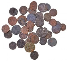 Római Birodalom 37db-os Vegyes Római Rézpénz Tétel A Kr.u. III-IV. Századból T:2-,3 Roman Empire 11pcs Of Various Roman  - Monnaies & Billets
