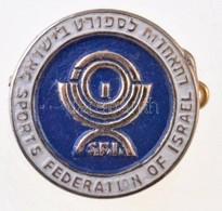 Izrael DN 'Izraeli Sport Szövetség' Fém Jelvény (17mm) T:2 Israel ND 'Sports Federation Of Israel' Metal Badge (17mm) C: - Monnaies & Billets
