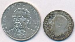Vegyes: 1994. 200Ft Ag 'Deák' + Jugoszlávia 1931. 10D Ag 'I. Sándor' T:2 Patina - Monnaies & Billets