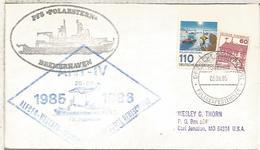 ALEMANIA CC EXPEDICION ANTARTICA 1985 BUQUE POLARSTERN ANTARTIDA ANTARCTIC - Expediciones Antárticas