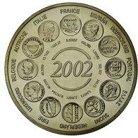 France, Médaille, L'Europe, Naissance De L'Euro Fiduciaire, 2002, FDC - France