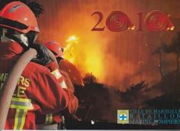 Bataillon Des Marins-Pompiers De Marseille - Calendrier 2010 - Pompiers