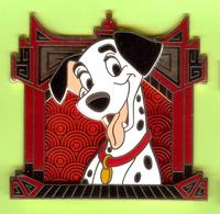 Gros Pin's BD Disney Chien Signe Du Zodiaque Chinois (Pongo - 101 Dalmatiens) - #861 - Disney