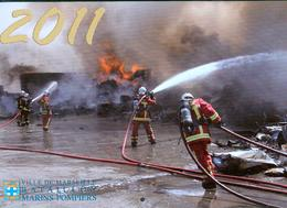 Bataillon Des Marins-Pompiers De Marseille - Calendrier 2011 - Firemen