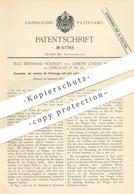 Original Patent - Max Eberhard Schmidt , Joseph Lyman Silsbee , Chicago , USA , 1890 , Eisenbahn   Eisenbahnen   Lok - Documents Historiques